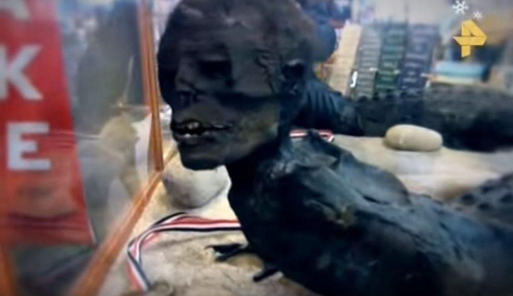 човек-рептил