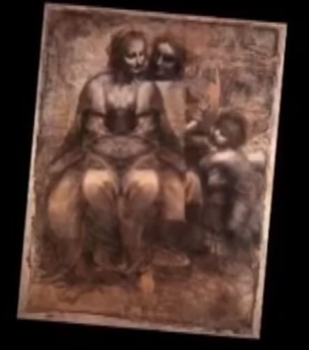 Леонардо да Винчи Мадоната с Младенеца