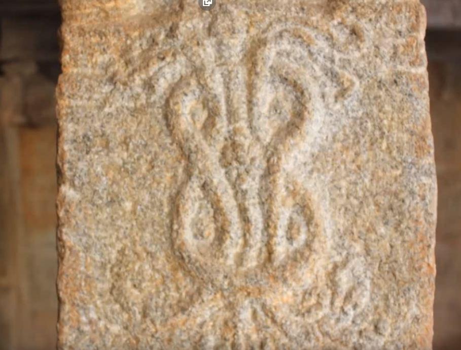 изображение на сплетени змии храм Литакши Индия