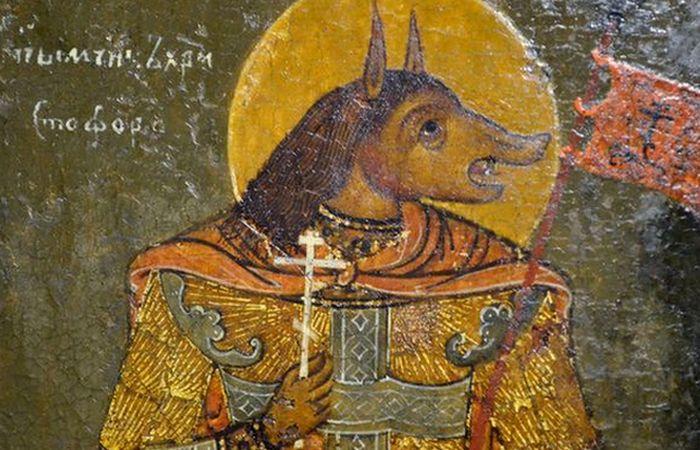 песоглавците-свети Христофор