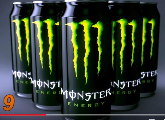 сатанински символ скрит в емблемата на Монстър