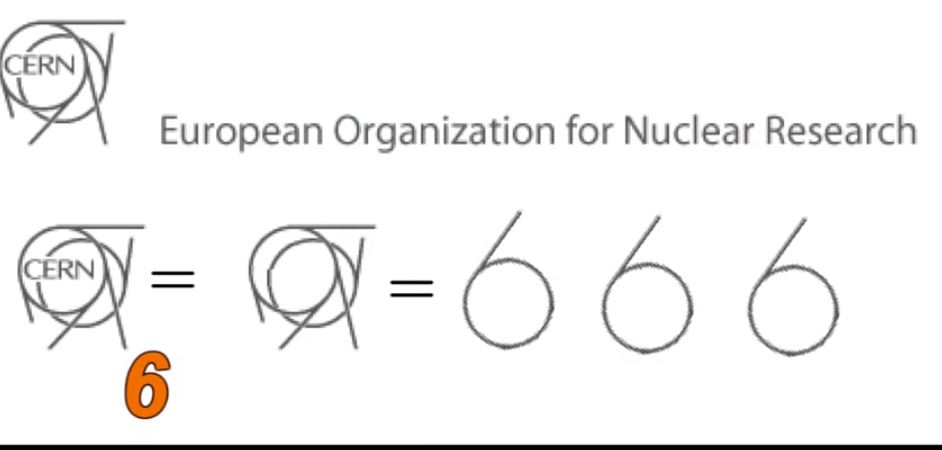 сатанински символ скрит в емблемата на Cern