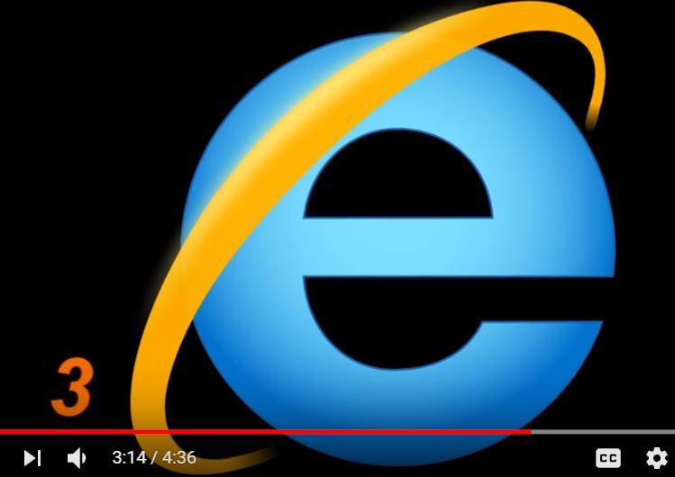 сатанински символ скрит в емблемата на INTERNET EXPLORER