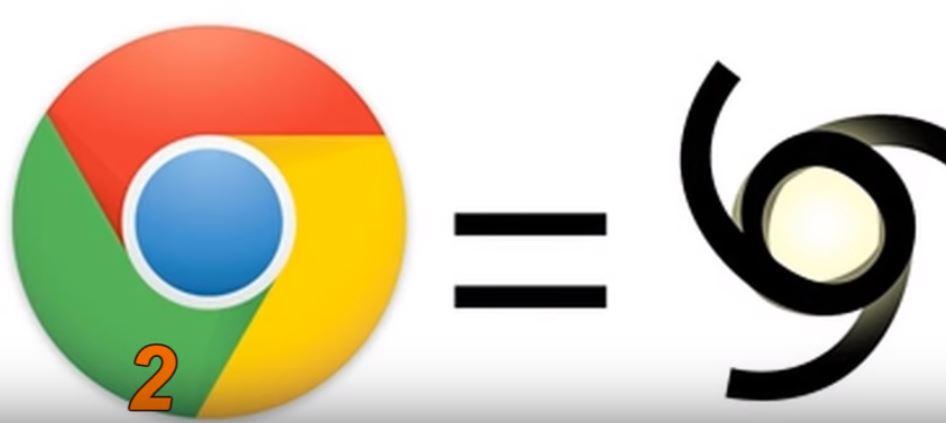 сатанински символ скрит в емблемата на Google chrome