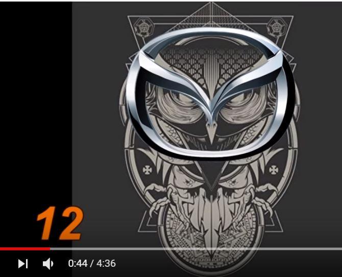 масонски символ скрит в емблемата на Мазда