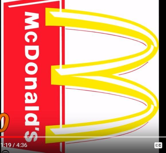 масонски символ скрит в емблемата на Макдоналс