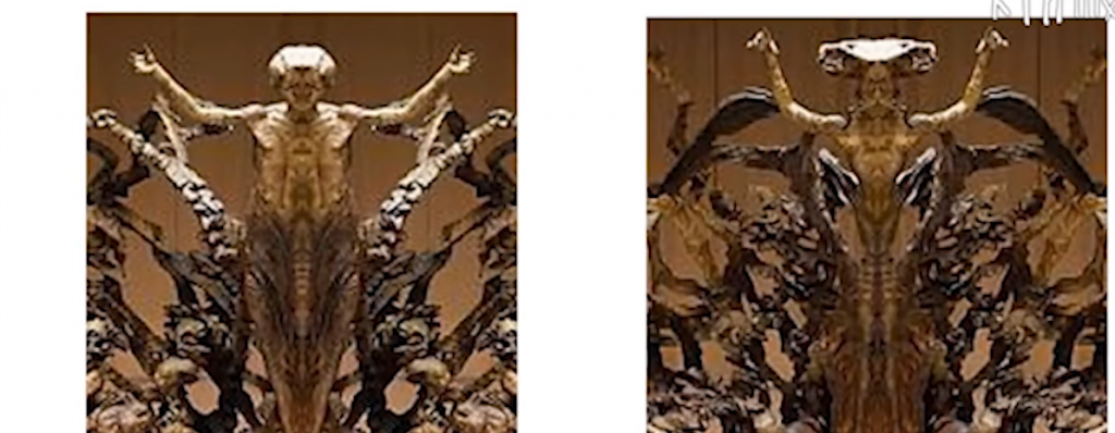 статуи в конферентната зала на ватикана