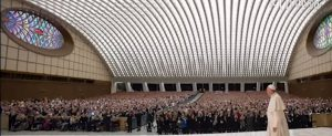 конферентанта зала на римския папа