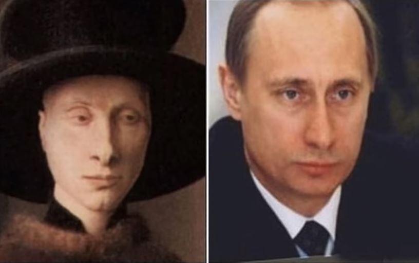 Путин и фламандски селянин
