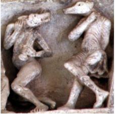 ezoterikbg.net-кинокефали-песоглавци-с-тимпани-12 век-абатство -сен-мадлен-франция