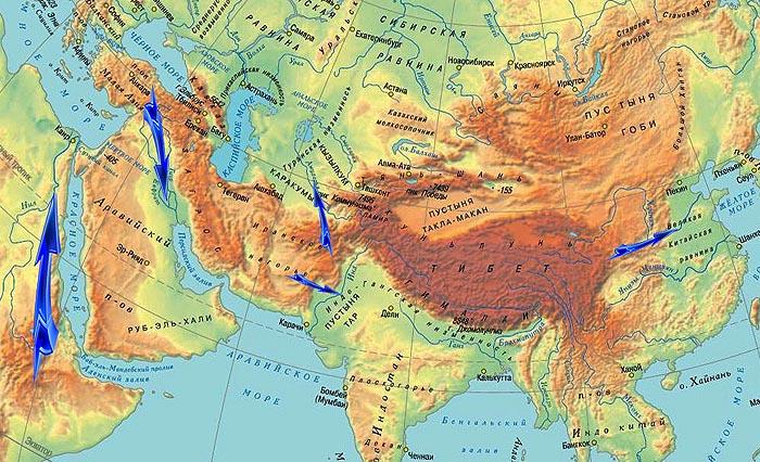 Изместването на селскостопанските зони през III хил. Пр.н.е. - един процес