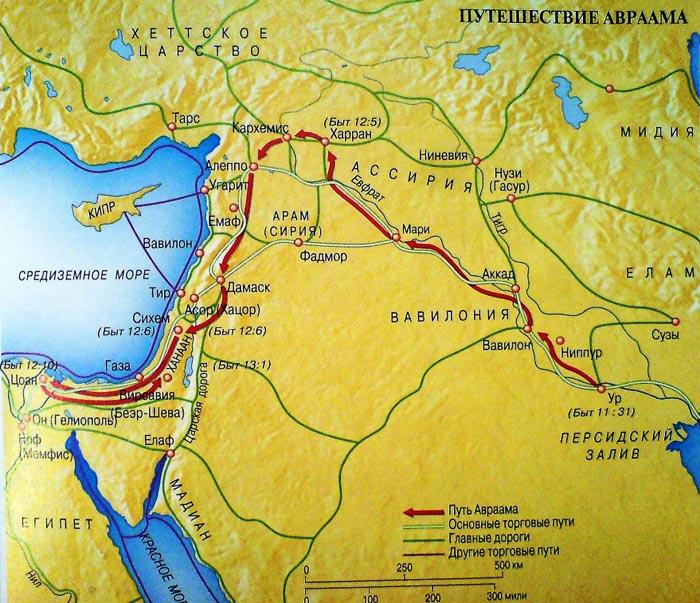 пътят на авраам