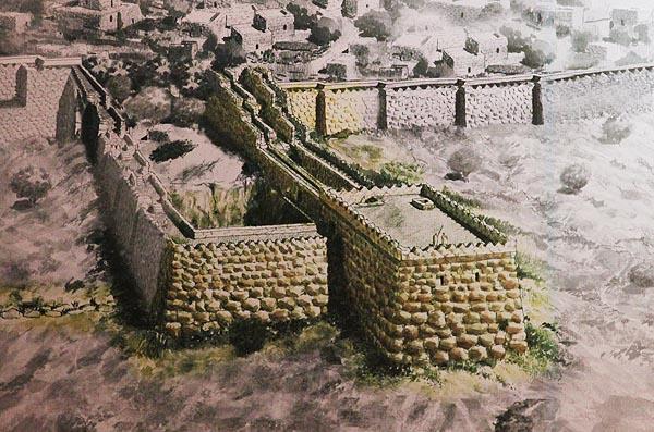 Стените на Ерусалим във времето на Давид