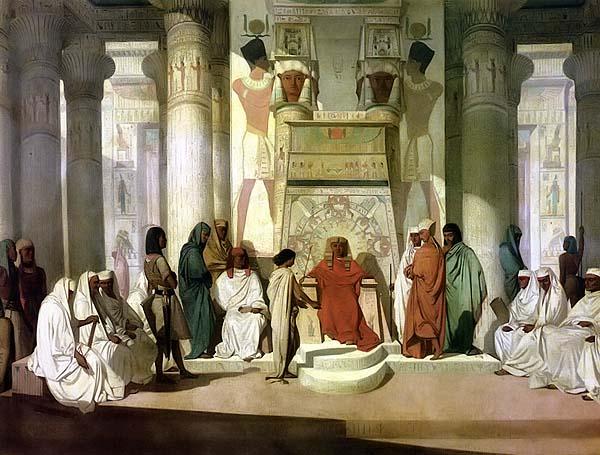 Йосиф тълкува сънищата на Фараона