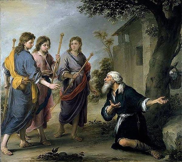 Авраам и тримата ангели (Бартоломе Мурильо)