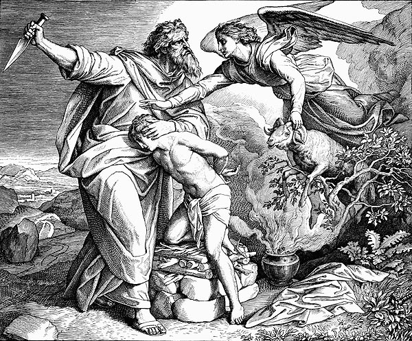 "Авраам жертва Исаак"" (Юлиус фон Каролсфелд)"