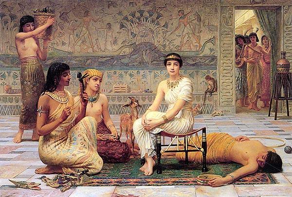 Египетските фараони имаха големи хареми