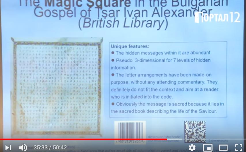магически квадрат