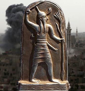 Баал Оклеветеният Бог!И още за Сатаната,Анунаките и войната в ...Сирия