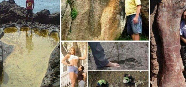 Гигантите Наистина са Живели на Земята!Забранената Археология !