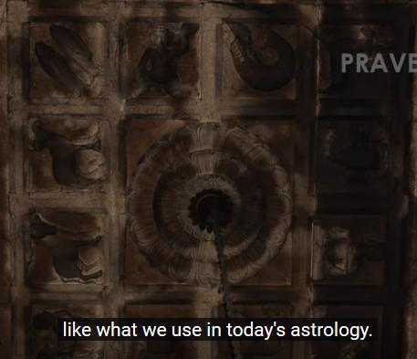 Ключ към Древна Астрологична Карта скрит в Индийски Храмове