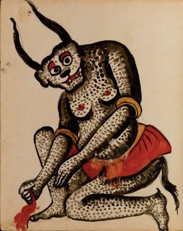 Арабските писания, представени в ръкописа, описват заклинания за побеждаване на различни демони на снимката, както и информация, свързана със съзвездия и раждания на звезди.